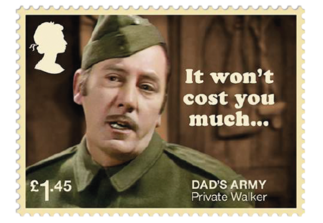 Dads Army stamps product images 5 - Don't Panic! NEW Dad's Army stamps celebrate classic British sitcom