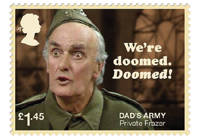 Dads Army stamps product images 6  - Don't Panic! NEW Dad's Army stamps celebrate classic British sitcom