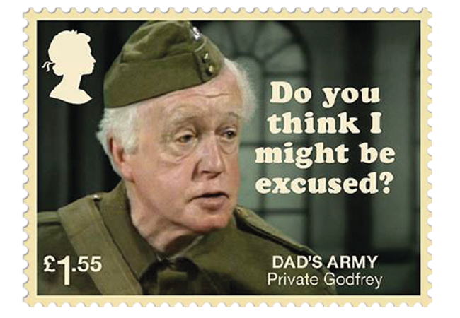 Dads Army stamps product images 7 - Don't Panic! NEW Dad's Army stamps celebrate classic British sitcom