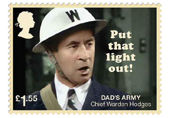 Dads Army stamps product images 8 - Don't Panic! NEW Dad's Army stamps celebrate classic British sitcom