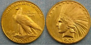 1907 eagle reverse 1 300x149 - The million dollar coin that caused 'public outrage'…