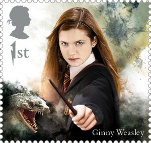 Ginny Weasley stamp 300x284 - FIRST LOOK: NEW magical Harry Potter Stamps just revealed