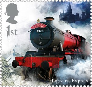 Hogwarts Express stamp 300x284 - FIRST LOOK: NEW magical Harry Potter Stamps just revealed