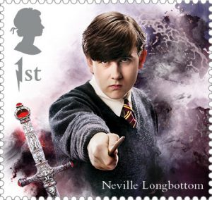 Neville Longbottom stamp 300x284 - FIRST LOOK: NEW magical Harry Potter Stamps just revealed
