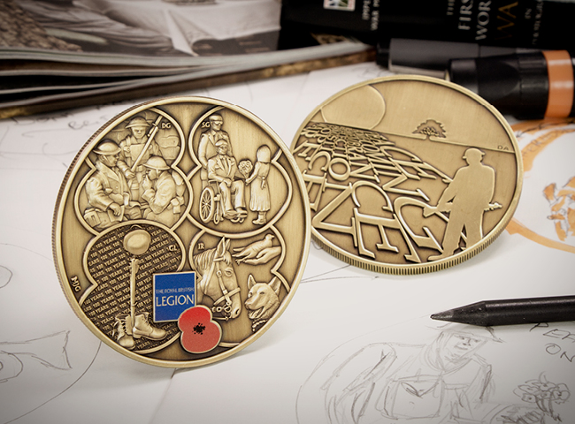 RBL 2018 Bravo 22 Armistice Medal Blog Images9 - The Royal British Legion Armistice Medal – Inspired by veterans from Bravo 22 Company, created by Mint Editions