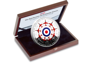 Red Arrows Signature in box 1 300x208 - The day I met the Red Arrows – and the ultimate silver tribute, fully-endorsed by all 9 pilots