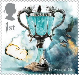 Triwizard Cup stamp 300x284 - FIRST LOOK: NEW magical Harry Potter Stamps just revealed
