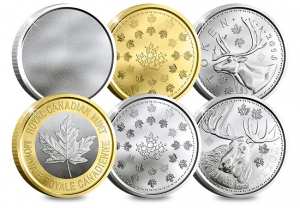 Canada Security Test Token Set 300x208 - A sneak peek at next generation coinage courtesy of The Royal Canadian Mint