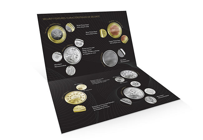 Canada Security Test Token Set Packaging2 - A sneak peek at next generation coinage courtesy of The Royal Canadian Mint