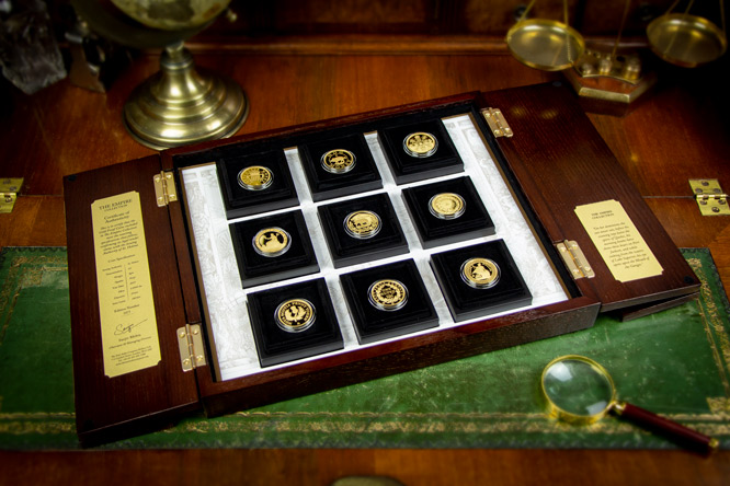 EIC 2019 Empire Gold Proof Nine Coin Set Blog Image1 - Discover the coins that built the British Empire