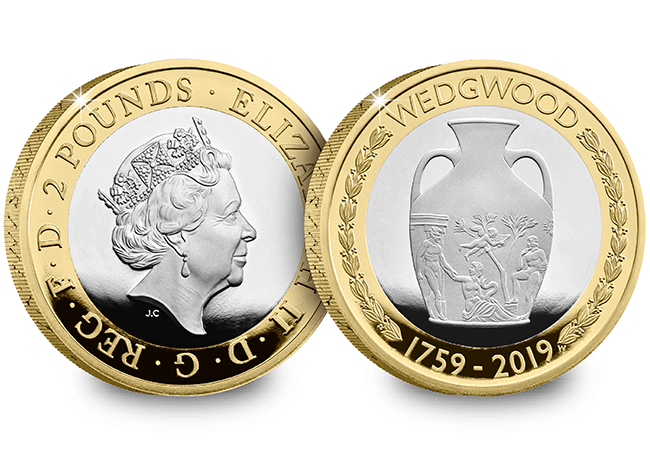 2019 Base Metal Proof Set Wedgwood - First Look: The Royal Mint UK 2019 Commemorative Coins