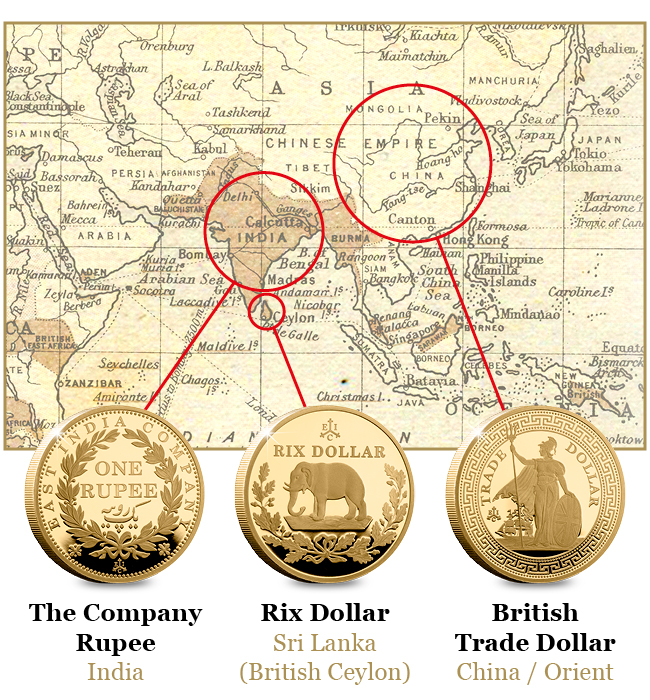 EIC 2019 Empire Collection Gold Proof Nine Coin Set Blog Images2 - Discover the coins that built the British Empire