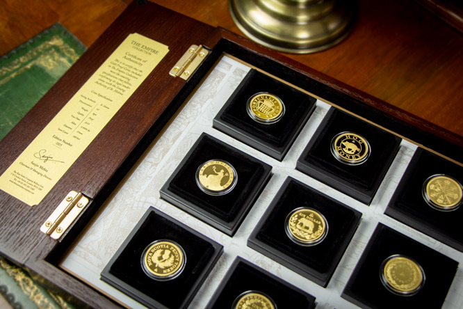 EIC 2019 Empire Gold Proof Nine Coin Set Blog Image2 - Discover the coins that built the British Empire
