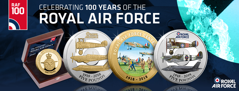 ST RAF 100th Coins Facebook Cover Photo - What does the RAF Centenary mean to an ex RAF servicemen?