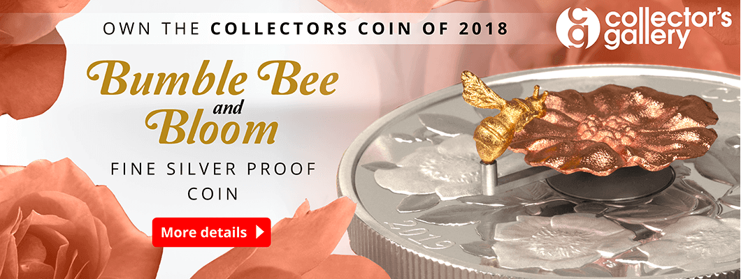 AT RCM Bumble Bee and Bloom Coin Homepage Banner Large 1 1 - BREAKING NEWS: The coin of 2018 is revealed...