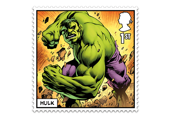 Marvel Stamps Blog 650x450 hulk - FIRST LOOK: NEW 'Super' MARVEL Stamps just revealed