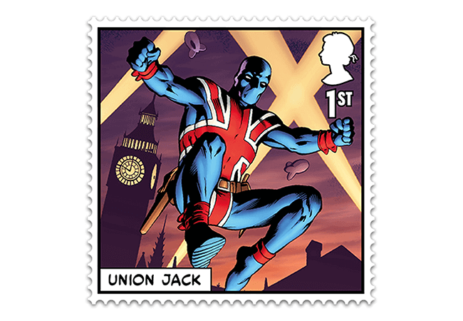 Marvel Stamps Blog 650x450 union jack - FIRST LOOK: NEW 'Super' MARVEL Stamps just revealed