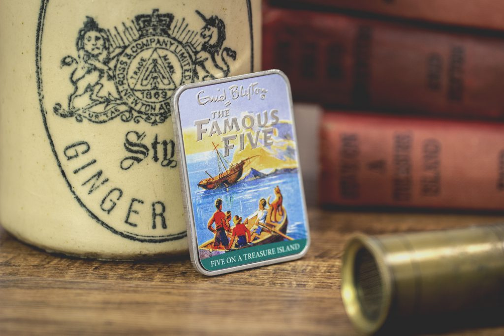 ST Enid Blyton Famous Five Silver Plated Ingot Collection Treasure Island Lifestyle2 1024x683 - Relive the adventures of the Famous Five...
