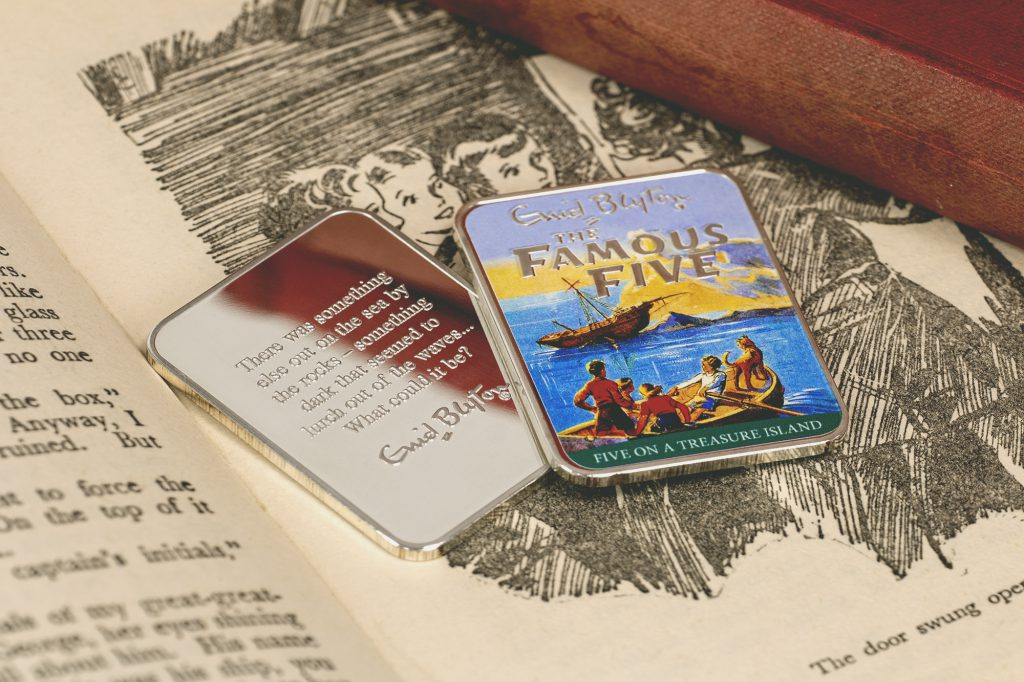 ST Enid Blyton Famous Five Silver Plated Ingot Collection Treasure Island Lifestyle4 1024x682 - Relive the adventures of the Famous Five...