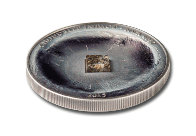The Chondrite Meteorite Impact Silver Coin lifestyle - Near Miss Day: A look at the coins making the biggest impact...