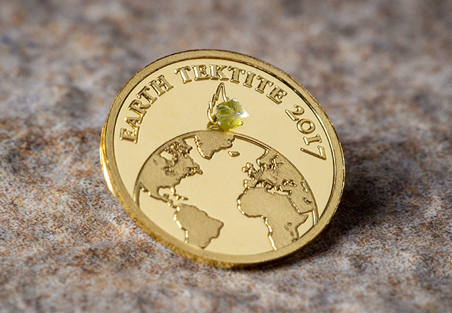 The Earth Meteorite Gold Proof Coin - Near Miss Day: A look at the coins making the biggest impact...