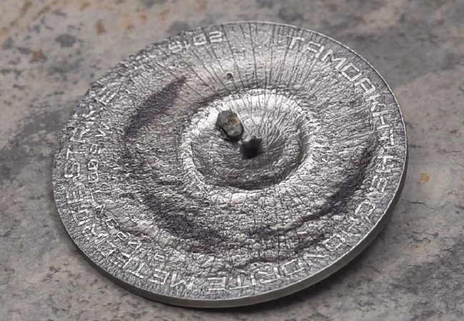 The Tamdakht Meteorite Strike Silver Coin - Near Miss Day: A look at the coins making the biggest impact...