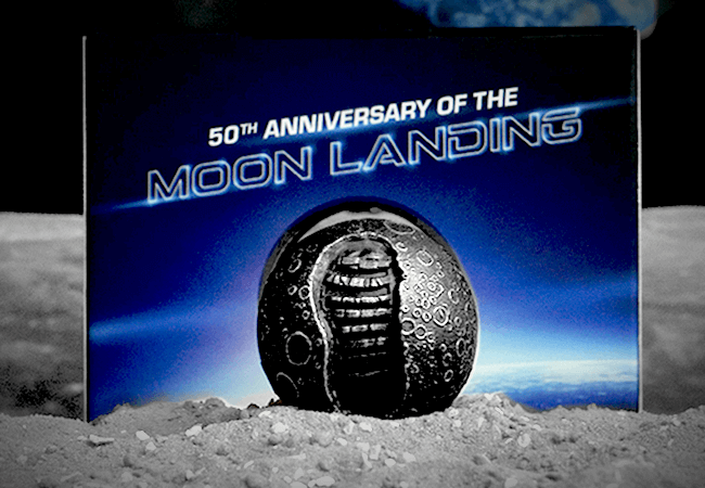 Moon Coin 4 - My favourite Moon Landing Anniversary Coin