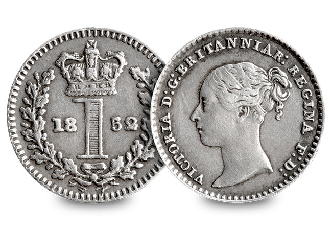 UK 1852 Queen Victoria Young Head Maundy Money Silver Penny Obverse Reverse - The Easter coins that trace their history back to the time of Jesus…