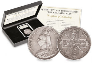 Queen Victoria Double Florin Main 300x208 - The Victorian coins that were meant to transform our currency…but were blamed for famine instead.