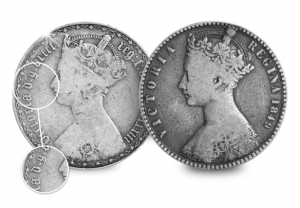 Victorian Florin comparison mobile 002 300x208 - The Victorian coins that were meant to transform our currency…but were blamed for famine instead.