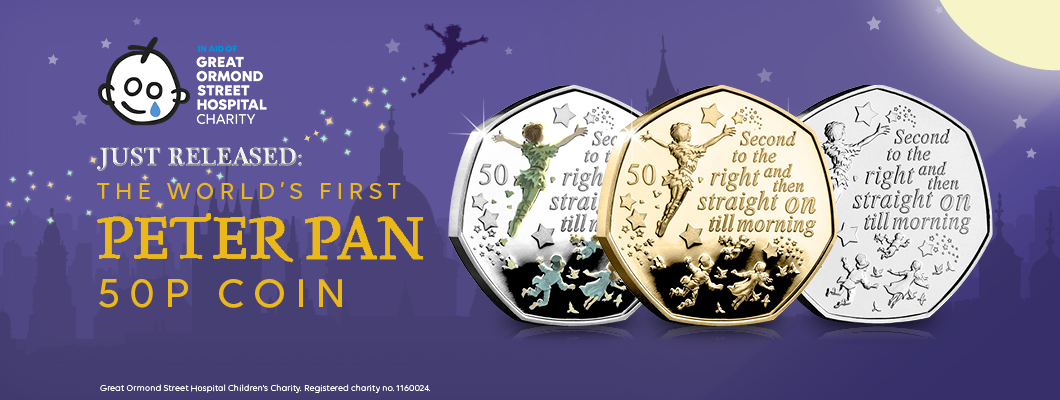 DN peter pan 50p coin hub banner - Official Peter Pan 50p Coin