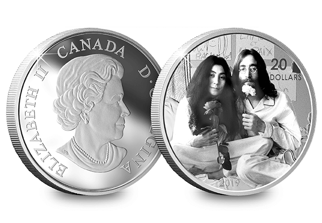 John Lennon Give Peace a Chance 1oz Coin Obverse Reverse 1 - Happy Canada Day!
