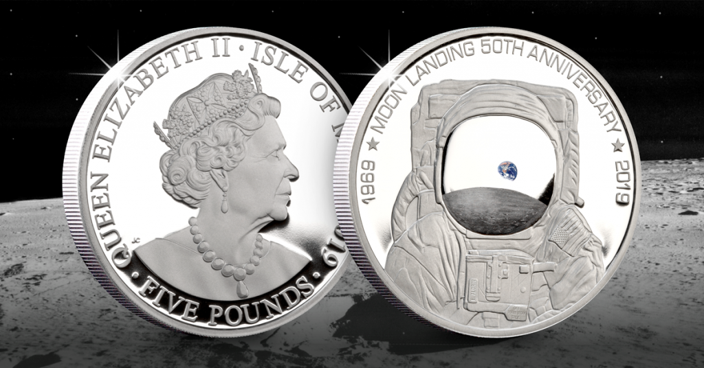 CL IOM 2019 50th Anniversary Moon Landings Silver Coin Facebook 2 1024x536 - The FIVE Moon Landing 50th Anniversary Coins every collector should know about…