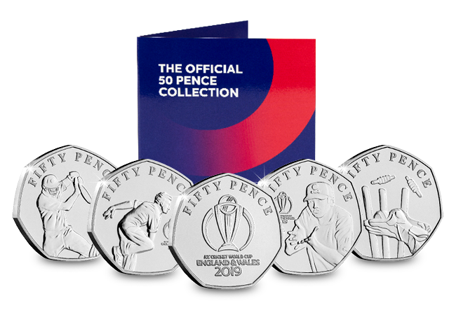 DN IOM ICC 2019 cricket world cup BU 50p set product set Main - Howzat... England are CRICKET WORLD CHAMPIONS!