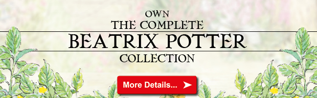 DY The Beatrix Potter Collection Email banner - How rare are the Beatrix Potter 50ps? All you need to know in our Q&A...