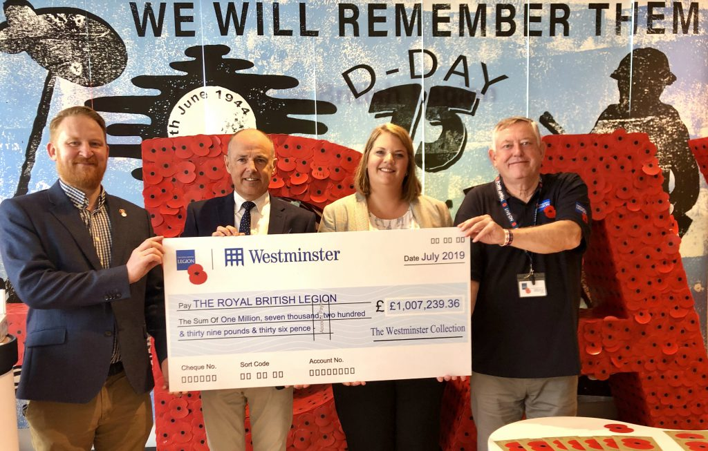 IMG 0031 1024x653 - The Westminster Collection raises £1 Million for The Royal British Legion!