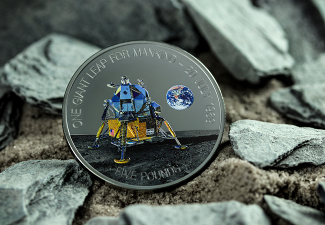 LS Jersey 2019 Moon Landing Black Proof 5 Lifestyle 2 - The FIVE Moon Landing 50th Anniversary Coins every collector should know about…