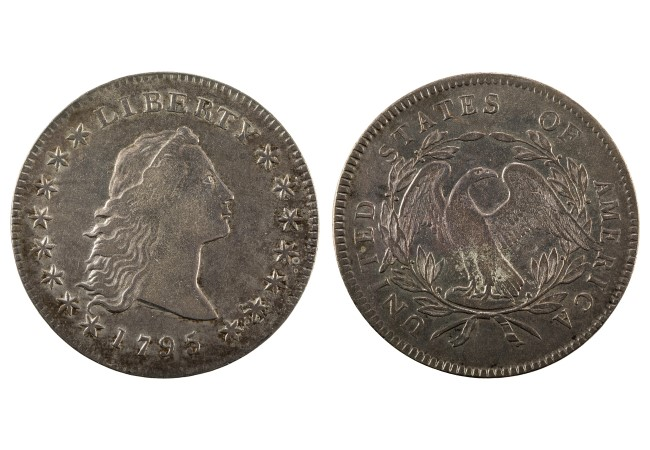 NNC US 1795 1 Flowing hair - Celebrate Fourth of July with America's most iconic coins
