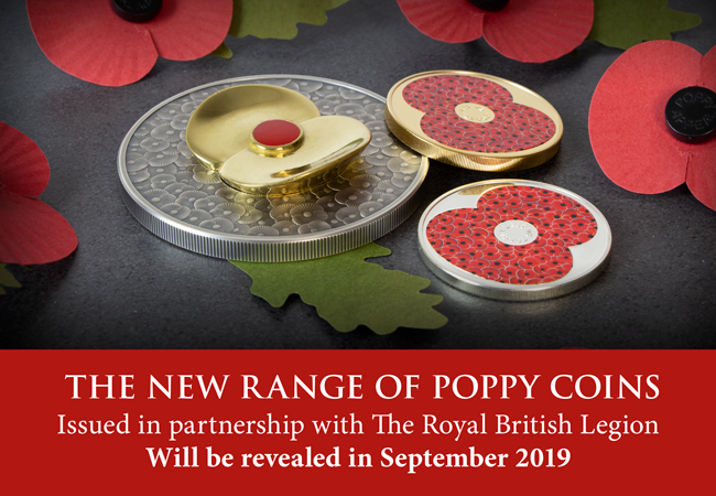 Poppy coin image blog - The Westminster Collection raises £1 Million for The Royal British Legion!