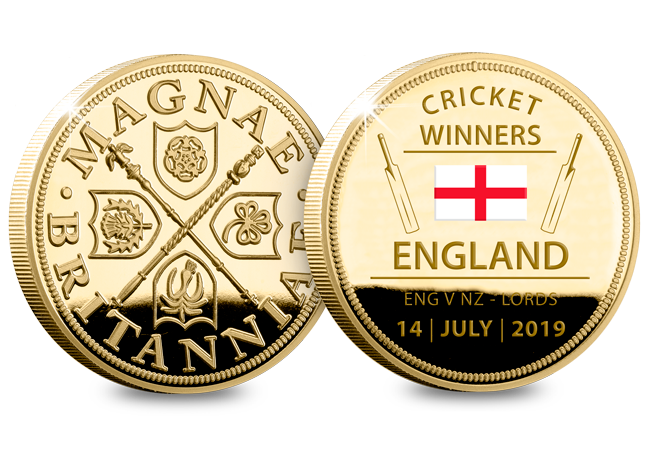 Winners Both - Howzat... England are CRICKET WORLD CHAMPIONS!