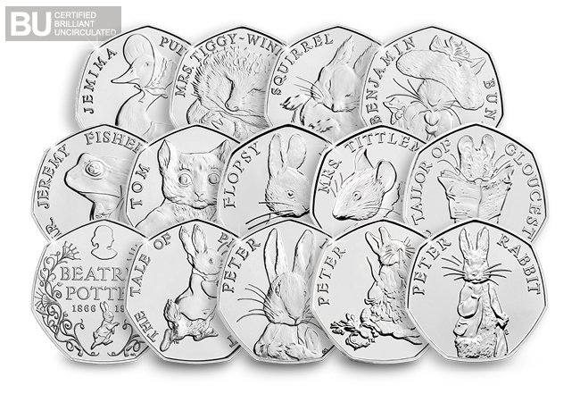 dy complete bp set product page images2 - How rare are the Beatrix Potter 50ps? All you need to know in our Q&A...