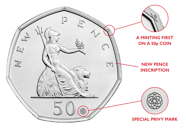 50 years of the 50p 2019 BU product images 7 - The BRAND NEW 50p issue that's sure to be this year's must-have release