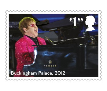 Buckingham Palace - FIRST LOOK: NEW Elton John Stamps announced today
