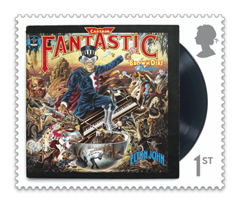 Captain Fantastic and the Brown Dirt Cowboy - FIRST LOOK: NEW Elton John Stamps announced today