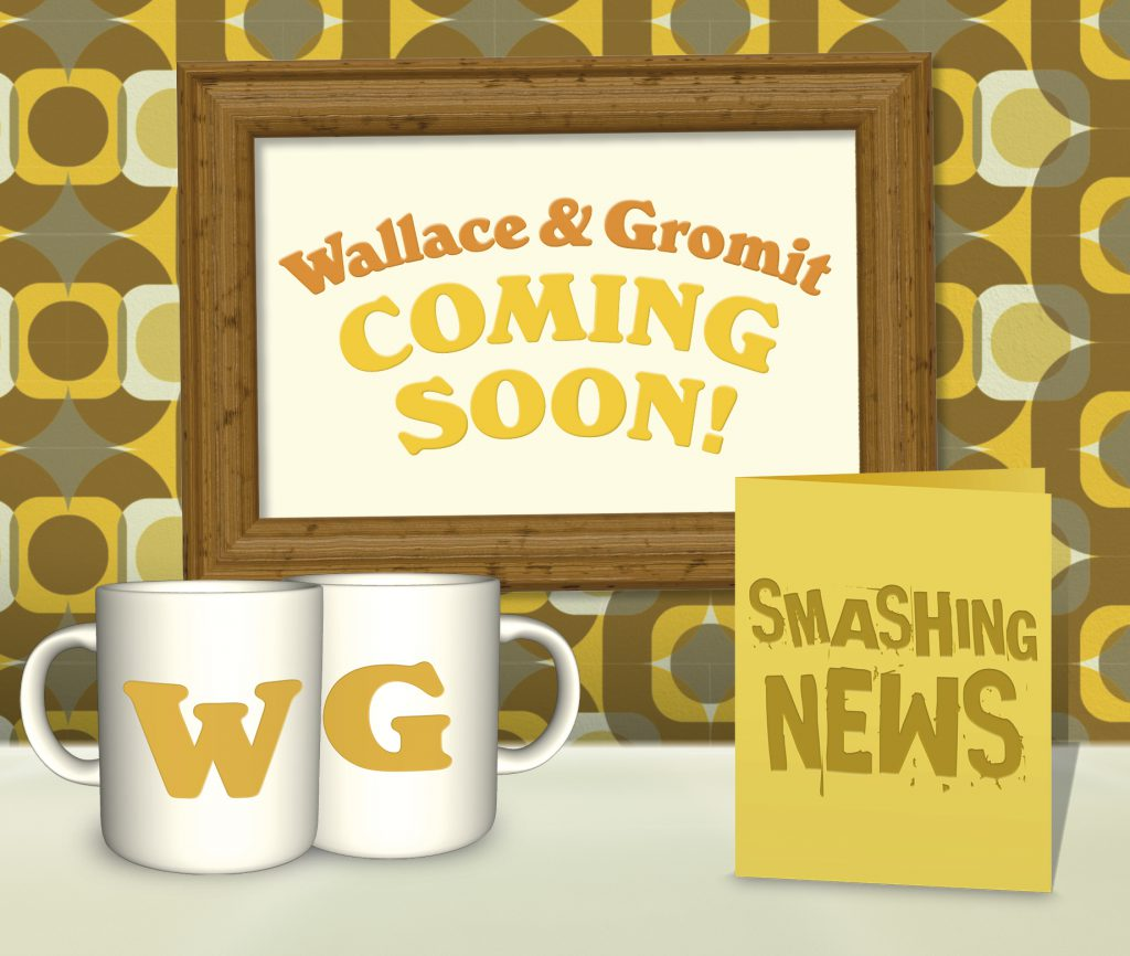 DN 2019 wallace and gromit coming soon blog image 650px 1024x866 - Smashing News! Wallace and Gromit are coming to The Royal Mint