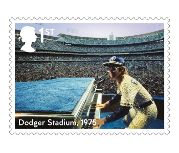 Dodger Stadium - FIRST LOOK: NEW Elton John Stamps announced today