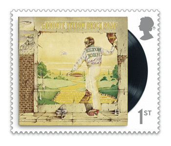 Goodbye Yellow Brick Road - FIRST LOOK: NEW Elton John Stamps announced today