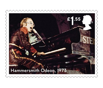 Hammersmith Odeon - FIRST LOOK: NEW Elton John Stamps announced today