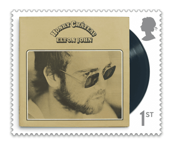 Honky Chateau 2 - FIRST LOOK: NEW Elton John Stamps announced today