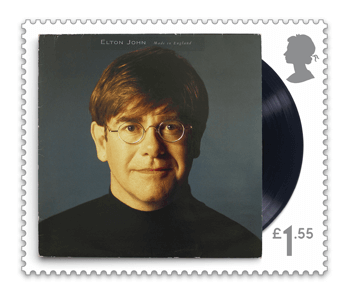 Made in England - FIRST LOOK: NEW Elton John Stamps announced today